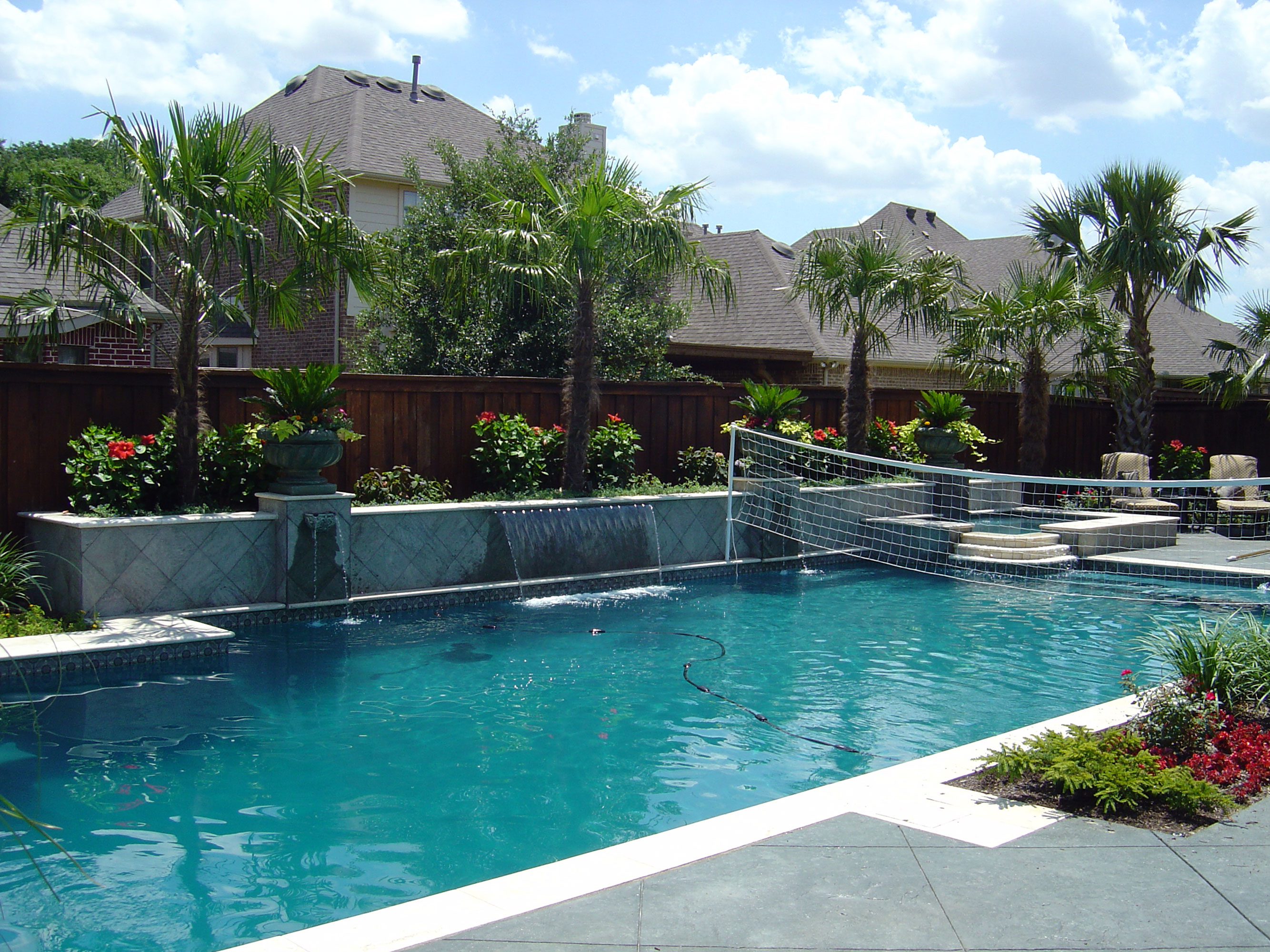 Our pools dallas swimming pools pool contractor for Pool show dallas